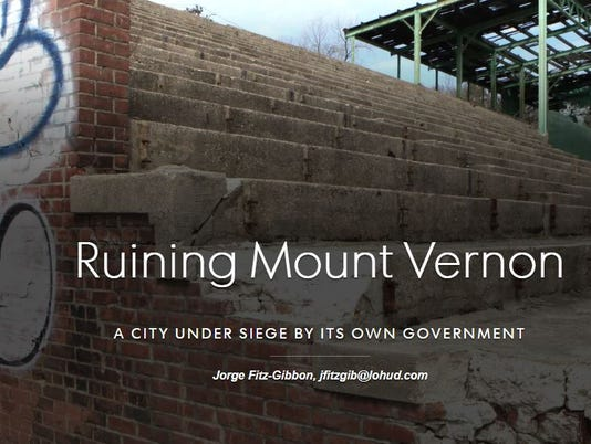 Ruining Mount Vernon front