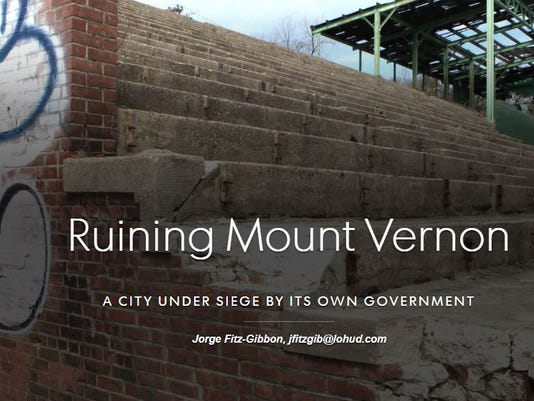 Ruining Mount Vernon front