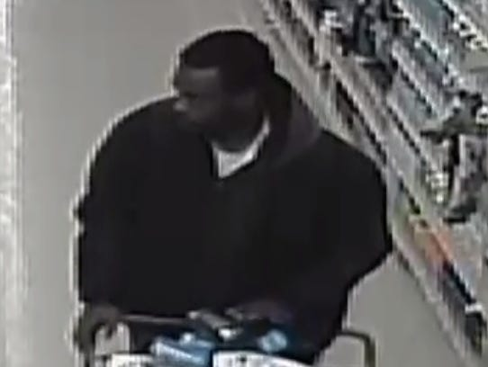 A man made off with more than $200 worth of Tide Pods, Dove body wash, and Secret deodorant from Pick 'n Save, 12735 W. Capitol Drive, Brookfield.