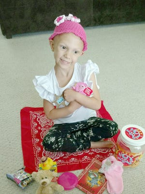 Four-year-old Emma Reynolds is counting her blessings this Thanksgiving after battling kidney cancer.