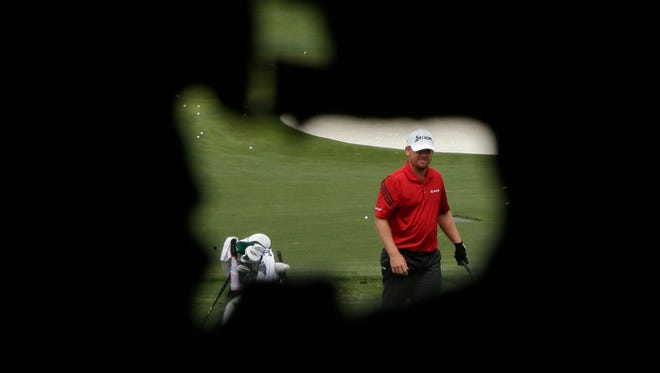Kentuckian J.B. Holmes is back at the Masters this week for the first time since 2008.
