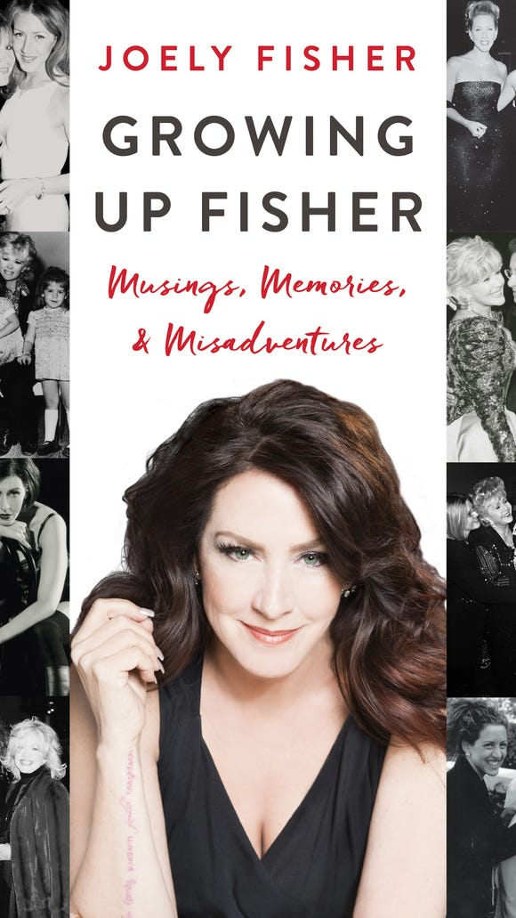 Joely Fisher shows off her tattoo of family (in a few