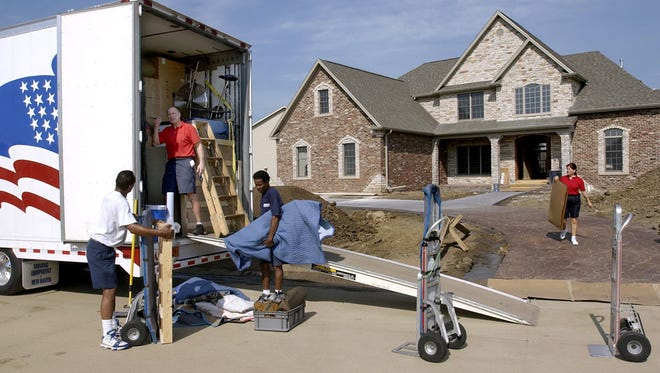 More Americans have been moving for jobs recently.
