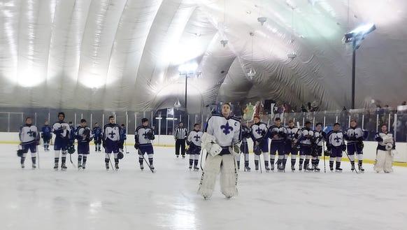 Pregame at the Ice Hutch in Mount Vernon.