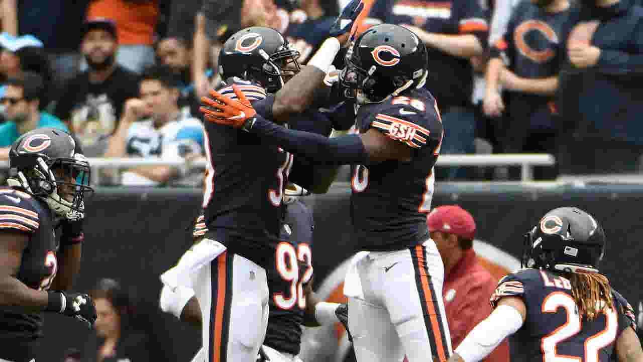 Defense provides Bears hope in NFC North as they break in rookie QB  Mitchell Trubisky eb26b4bda