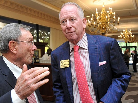 Former Ole Miss and New Orleans Saints quarterback Archie Manning