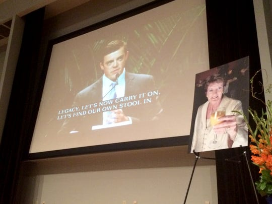 UT Martin held a live stream of Pat Summitt Memorial service, Thursday evening. Tyler Summitt, son of Coach Summitt, spoke of his mother's love.