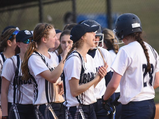 The Chambersburg softball team has outscored opponents