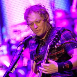 Matt Roberts  of 3 Doors Down performs at Rupp Arena in October 2011 in Lexington, Ky.