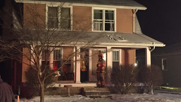 Calls came late Friday night reporting a house fire