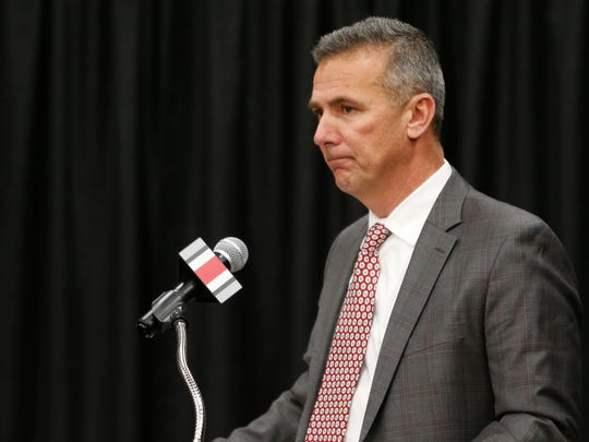 Ohio State coach Urban Meyer will retire after the Rose Bowl.
