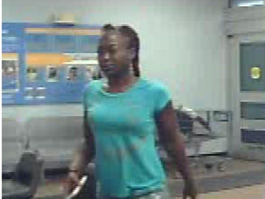 Walmart Stolen Credit Card suspect