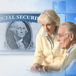 Benefits from Social Security are a key source of income not just for workers but for their spouses as well.