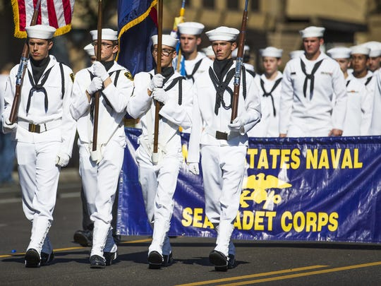 The United States Naval Sea Cadet Corps heads south