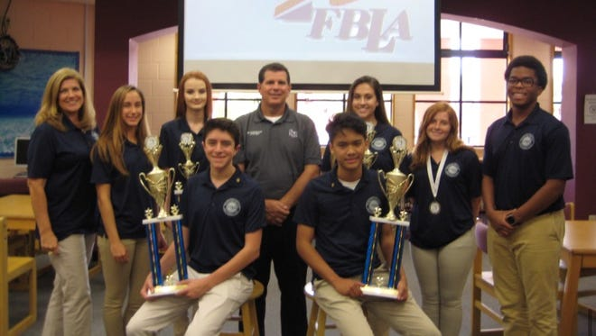 Treasure Coast members of the Future Business Leaders of America won awards at the state conference and will go to the national conference in California.