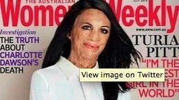 Australian Women's Weekly July 2014 cover.