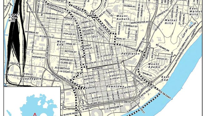 The city of Cincinnati has proposed an urban parking overlay district in which parking won't be provided with new developments.