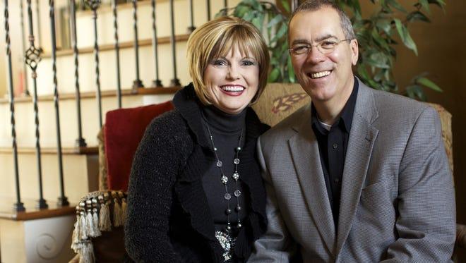 The Glade Church's incoming senior pastor Rev. Mark Marshall with wife Leigh Ann Marshall.