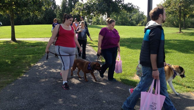 Milford will host a Bark for Life fundraiser this Sunday at Central Park.