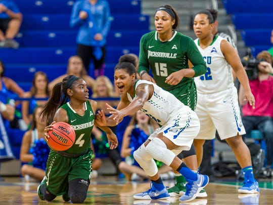 Junior forward Rosemarie Julien not only led FGCU in scoring with 11 points per game, but was honored as the team's best defender Wednesday night.