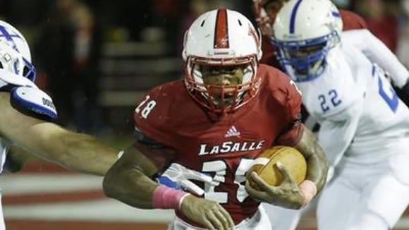La Salle junior RB Jeremy Larkin is 24 yards shy of 2,000 for this season