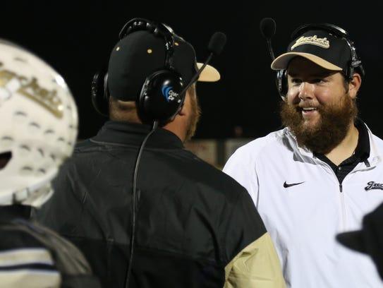 Springfield High School defensive coordinator Drew