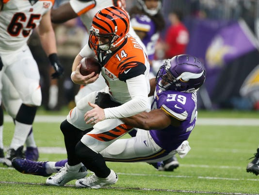 Andy Dalton, Danielle Hunter