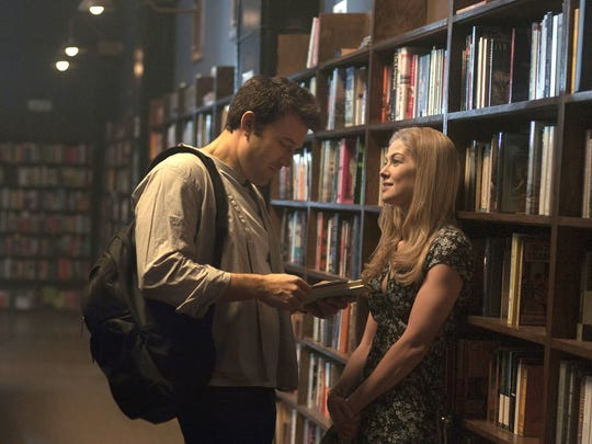 """Nick (Ben Affleck) and Amy (Rosamund Pike) have a memorable date in """"Gone Girl."""""""
