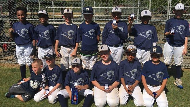 The Roberson Rambers 9U baseball team.