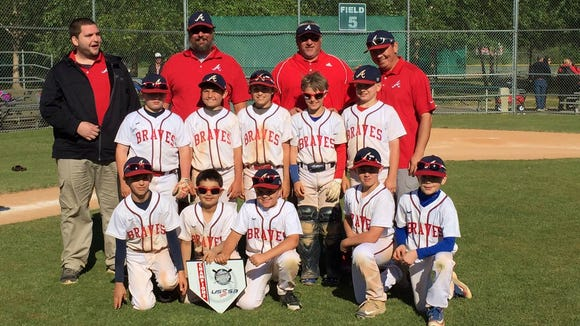 The Asheville Braves 9 and under baseball won the Rawlings Rumble tournament last weekend in Morganton.