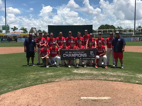 Next Level Baseball 18U captured a Perfect Game Southeast