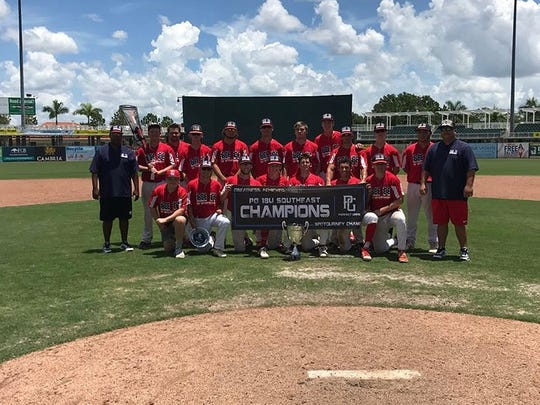 Next Level Baseball 18U captured a Perfect Game Southeast Championship for the second year in a row with a win last weekend in Fort Myers.