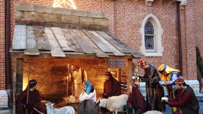 St. John's live Nativity will return for the Christkindl Village on Georgia Street next weekend.