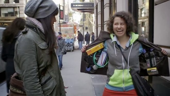 Abbi Abrams, left, and Ilana Wexler star on Comedy Central's 'Broad City.'
