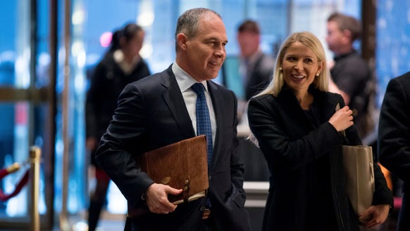 President Trump's pick for EPA administrator is overseeing