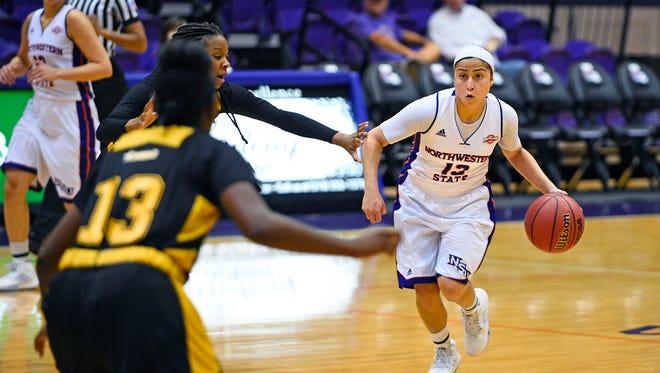 Janelle Perez led Northwestern State with 16 points on Thursday.