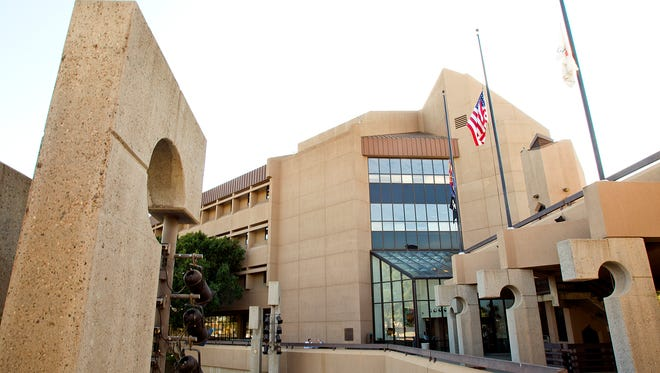 Exterior of the Glendale Municipal Office Complex.
