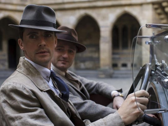 "Henry Talbot (Matthew Goode) sits in his Bentley in a scene from ""Downton Abbey."""