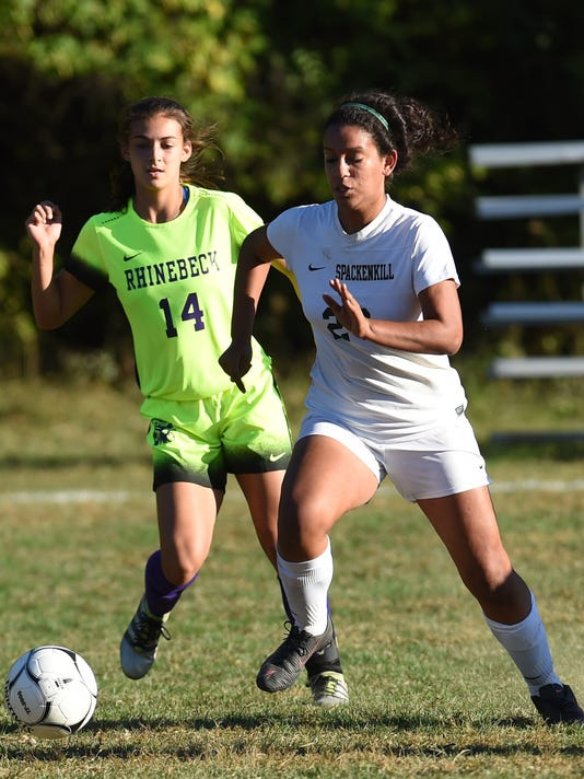 Secondary - Spackenkill Girls Soccer vs Rhinebeck