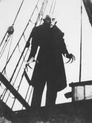 """Nosferatu,"" the 1922 silent German Expressionist horror"