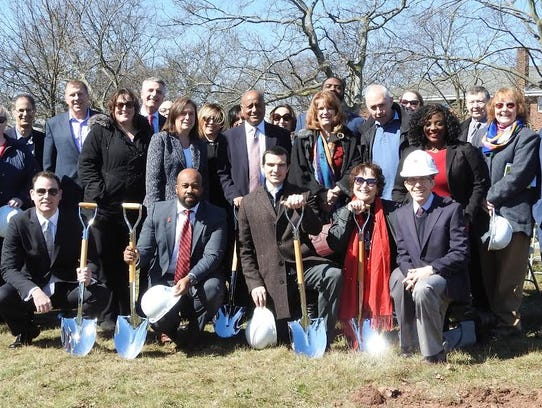 A groundbreaking was held Wednesday for a new housing