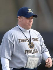 Brian Polian was an assistant coach at Notre Dame from