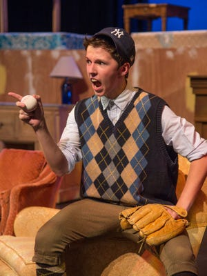 "Kyler Krause plays the lead role of Eugene Jerome in the Neil Simon Festival's 2016 production of ""Brighton Beach Memoirs."""