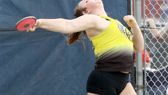 Lilly Johns was one of two Garfield throwers to make state in 2019.
