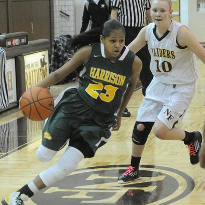 Junior guard Kristen Nelson scored 23 points to lead all scorers Wednesday.