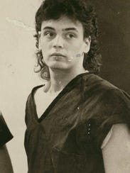 Matthew Stidham, then 17, is led to a 1991 hearing