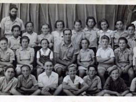 In school in Israel.