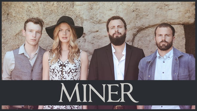 Miner will perform Friday, May 27 at Be Here Now, 505 N. Dill St.