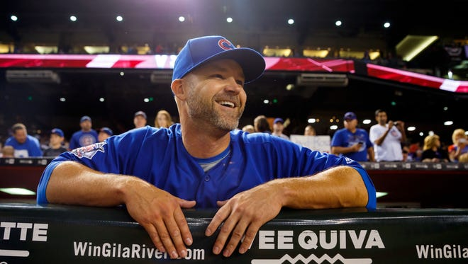 David Ross is retiring after 15 seasons in the majors.