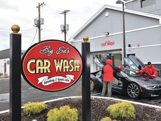 Big Ed's Car Wash, Fair Lawn.